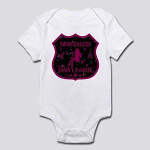 Swing Dancer Diva League Infant Bodysuit