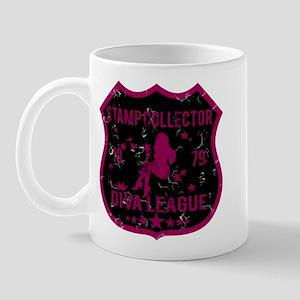 Stamp Collector Diva League Mug