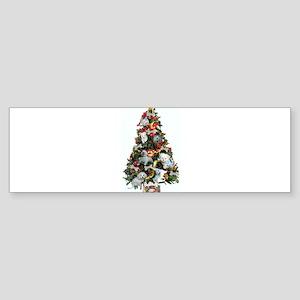 Merry Maltese Bumper Sticker