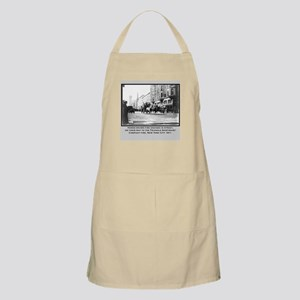 Vintage Photo of NYC Fire Brigade 1911 BBQ Apron