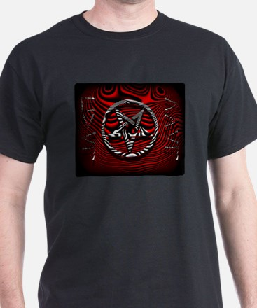 HAIL EVIL Pentagram Red ~ T-Shirt
