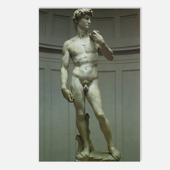 Statue of David by Michelangelo Postcards (Package