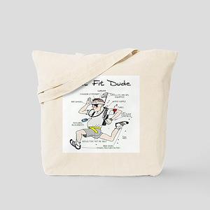 Get Fit Dude Tote Bag