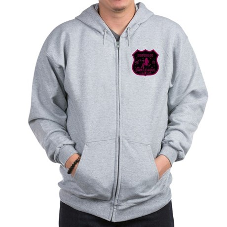 Didgeridoo Diva League Zip Hoodie