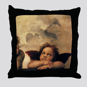 Angels by Raphael Throw Pillow