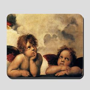 Angels by Raphael Mousepad