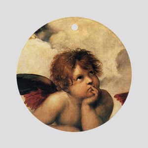 Angels by Raphael Ornament (Round)