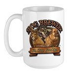 3 Dog Brewery Large Mug