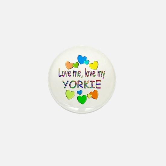 Yorkie Mini Button