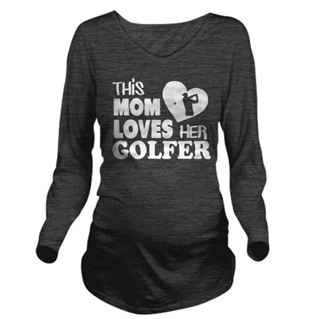 This Mom Loves Her Golfer T Shirt T-Shirt
