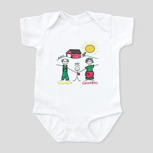Grandpa, Grandma & Me Infant Bodysuit
