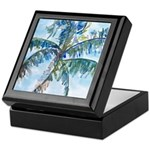 Breezy Palm Keepsake Box