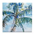 Breezy Palm Tile Coaster