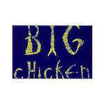 Big Chicken Rectangle Magnet