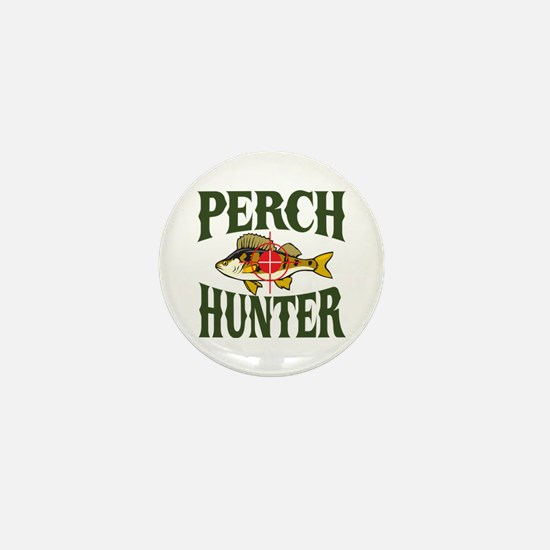 Perch Hunter Mini Button