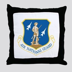 Air Guard Throw Pillow