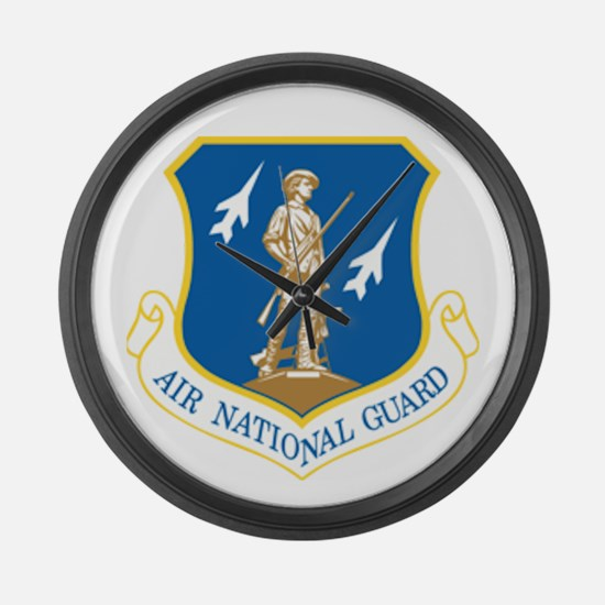 Air Guard Large Wall Clock