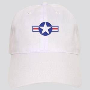 US USAF Aircraft Star Cap
