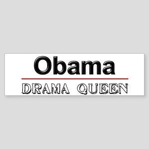 Obama Drama Queen Bumper Sticker