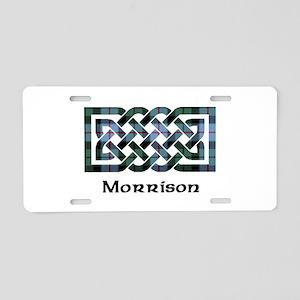 Knot-Morrison Aluminum License Plate