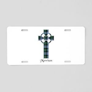 Cross-Morrison Aluminum License Plate
