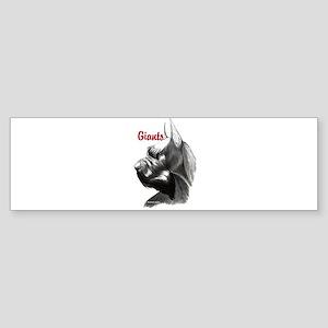 giant schnauzer Sticker (Bumper)