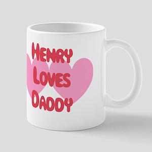 Henry Loves Daddy Mug