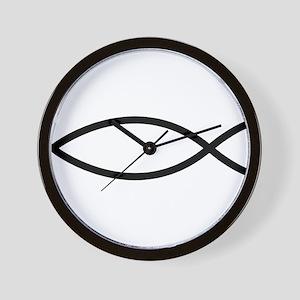 Christian Fish Wall Clock