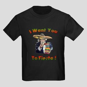 Fiests Sammy Kids Dark T-Shirt