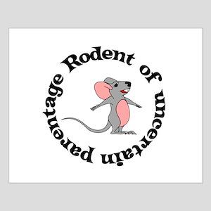 Rat Bastard Small Poster