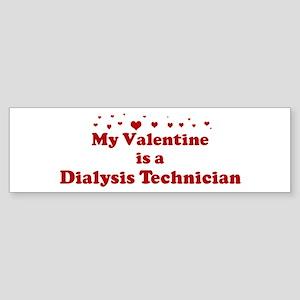 Valentine: Dialysis Technicia Bumper Sticker