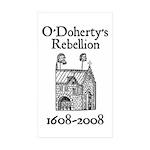 O'Doherty 1608-2008 Rectangle Sticker 50 pk)
