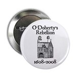 """O'Doherty 1608-2008 2.25"""" Button (100 pack)"""