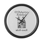 O'Doherty 1608-2008 Large Wall Clock