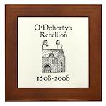 O'Doherty 1608-2008 Framed Tile