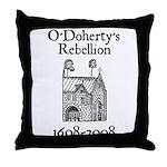 O'Doherty 1608-2008 Throw Pillow