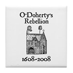 O'Doherty 1608-2008 Tile Coaster