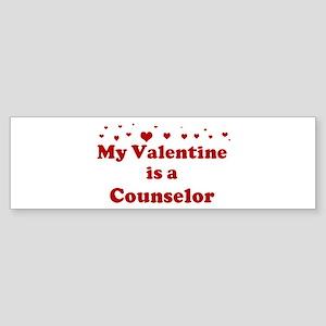 Valentine: Counselor Bumper Sticker