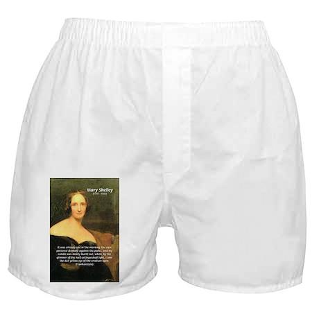 Writer Mary Shelley Boxer Shorts