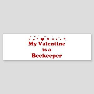 Valentine: Beekeeper Bumper Sticker