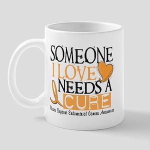 Needs A Cure ENDOMETRIAL CANCER Mug