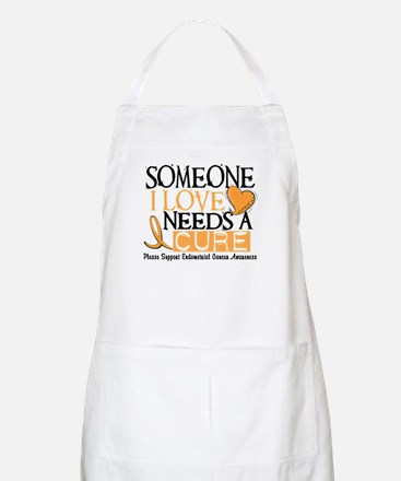 Needs A Cure ENDOMETRIAL CANCER BBQ Apron