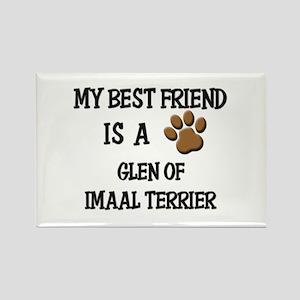 My best friend is a GLEN OF IMAAL TERRIER Rectangl