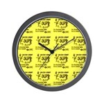 Reading Lines Late for a Date ? Wall Clock