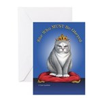Must be Obeyed Greeting Cards (Pk of 10)