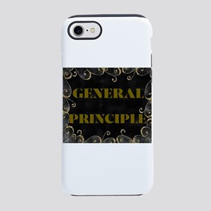 GENERAL PRINCIPLE(GOLD AN BLACK FRAMING) iPhone 8/
