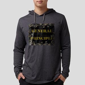 GENERAL PRINCIPLE(GOLD AN BLACK FRAMING) Long Slee