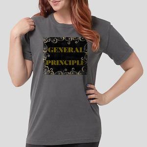 GENERAL PRINCIPLE(GOLD AN BLACK FRAMING) T-Shirt