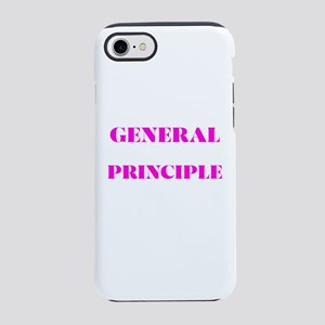 GENERAL PRINCIPLE(PINK PRINT) iPhone 8/7 Tough Cas