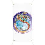 Magic Moon Dragon Banner